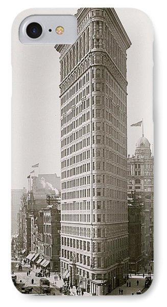 Flatiron Building IPhone Case by American School