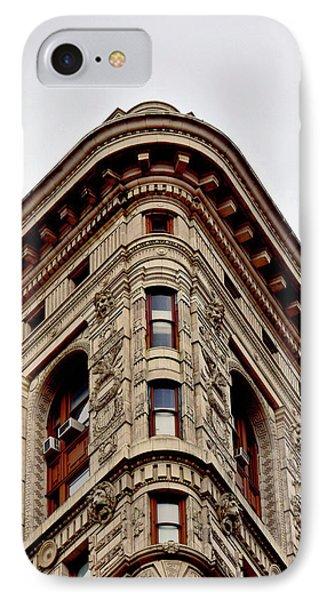 Flatiron Building Detail IPhone Case