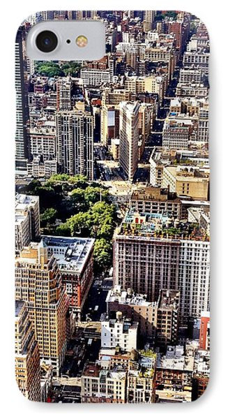 Flatiron Building From Above - New York City IPhone Case