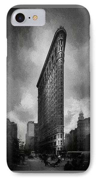 Flatiron Ch  IPhone Case by Marvin Spates