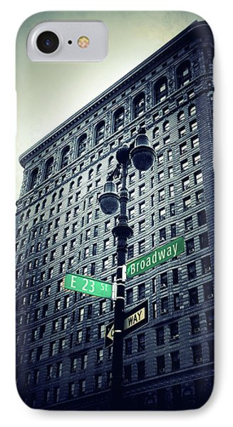 IPhone Case featuring the photograph Flatiron Directions by Jessica Jenney