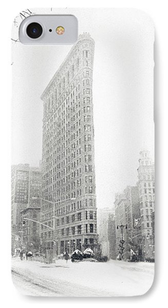 Flatiron In Winter IPhone Case by Jessica Jenney