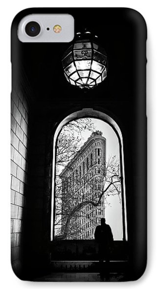 IPhone 7 Case featuring the photograph Flatiron Perspective by Jessica Jenney