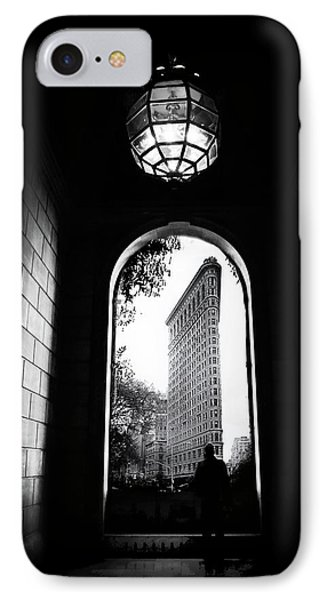 IPhone 7 Case featuring the photograph Flatiron Point Of View by Jessica Jenney
