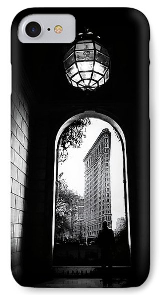 IPhone Case featuring the photograph Flatiron Point Of View by Jessica Jenney