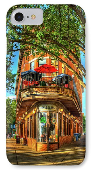 Flatiron Style Pickle Barrel Building Chattanooga Tennessee IPhone Case