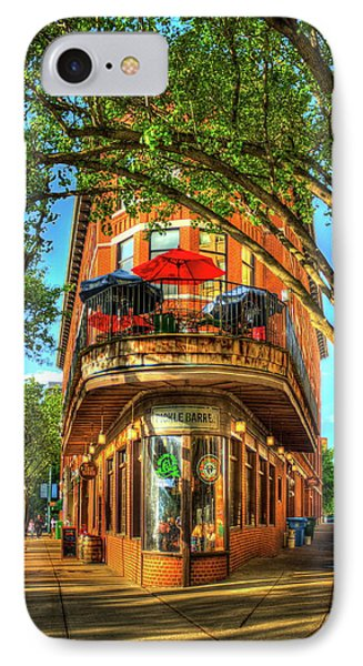 Flatiron Style Pickle Barrel Building Chattanooga Tennessee IPhone Case by Reid Callaway