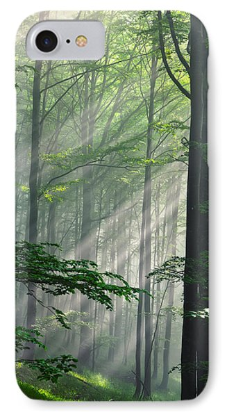 Fleeting Beams IPhone Case by Evgeni Dinev
