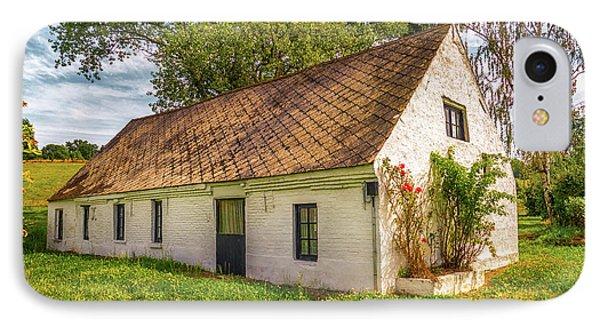 Flemish Cottage IPhone Case by Wim Lanclus