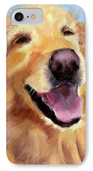 Fletcher Laughing IPhone Case