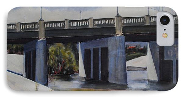 Fletcher Street Bridge IPhone Case