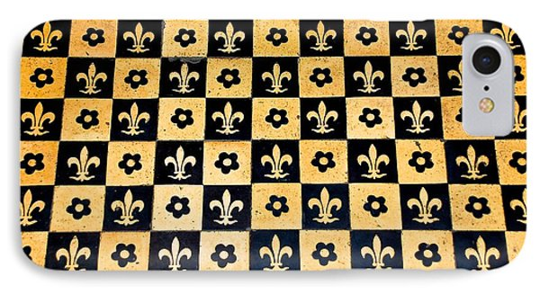 Fleur De Lis Floor IPhone Case by Eric Tressler