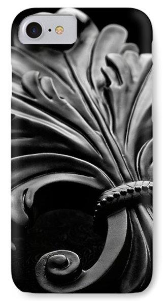 Fleur De Lis II IPhone Case by Tom Mc Nemar