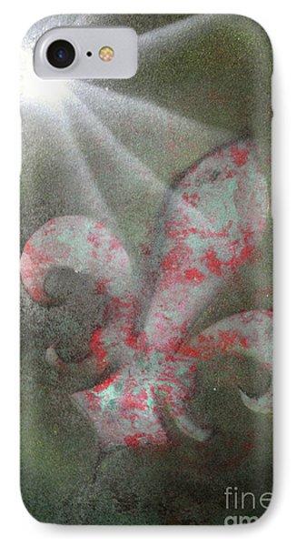 Fleur Di Lis IPhone Case by Tbone Oliver