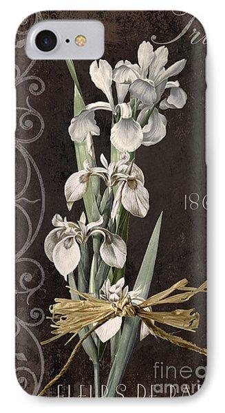 Fleurs De Paris II IPhone Case by Mindy Sommers