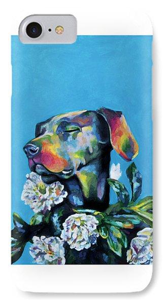 Fleur's Moment IPhone Case by Arleana Holtzmann