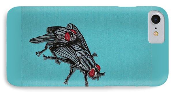 Flies Phone Case by Jude Labuszewski