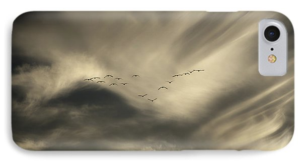 IPhone Case featuring the photograph Flight 016 Westbound by Robert Geary