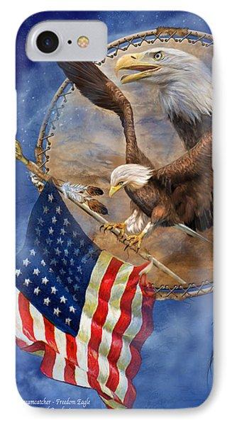 Flight For Freedom IPhone Case by Carol Cavalaris