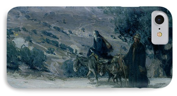 Flight Into Egypt IPhone Case