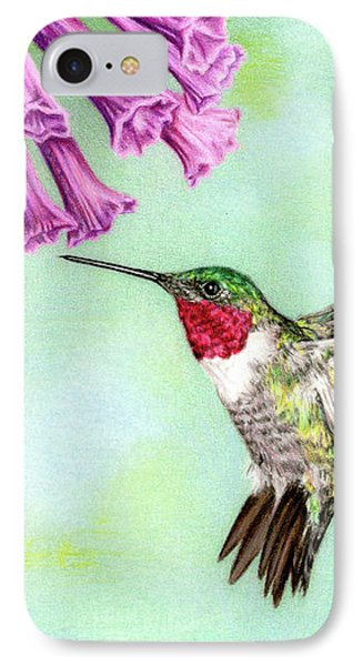 Flight Of Fancy IPhone Case by Sarah Batalka