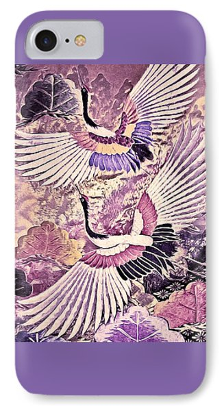Flight Of Lovers - Kimono Series IPhone Case