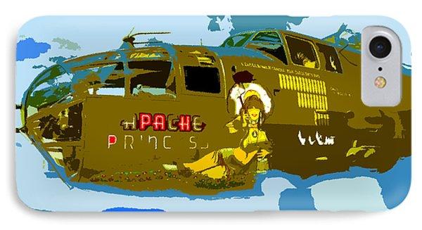 Flight Of The Apache Princess Phone Case by David Lee Thompson