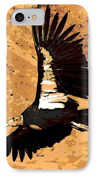 Flight Of The Condor Phone Case by George Pedro