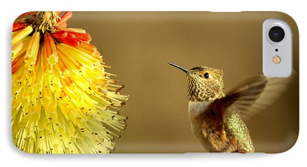 Flight Of The Hummer Phone Case by Mike  Dawson