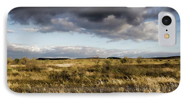 IPhone Case featuring the photograph Flinders Ranges Fields V3 by Douglas Barnard
