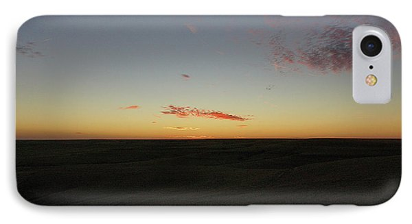 IPhone Case featuring the photograph Flint Hills Dusk by Thomas Bomstad