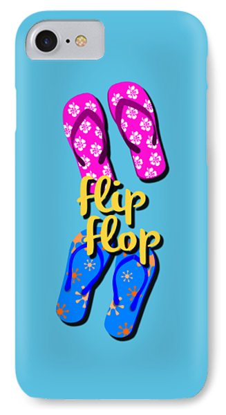 Flip Flop Cell Design IPhone Case by Edward Fielding