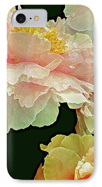 Floating Bouquet 31 IPhone Case by Lynda Lehmann