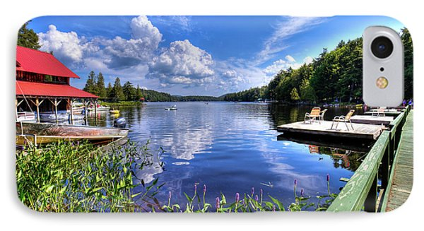 IPhone Case featuring the photograph Floating Bridge At Covewood by David Patterson