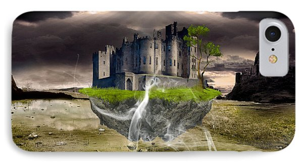 Floating Castle Phone Case by Marvin Blaine