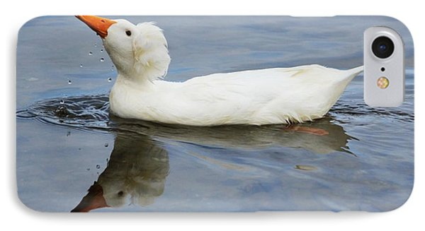 Floating Duck IPhone Case
