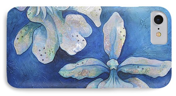 Floating Orchid IPhone 7 Case by Shadia Derbyshire