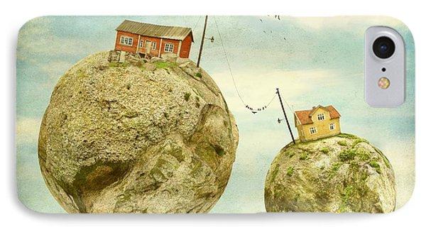 Floating Village Phone Case by Sonya Kanelstrand