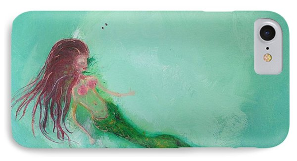 Floaty Mermaid Phone Case by Roxy Rich