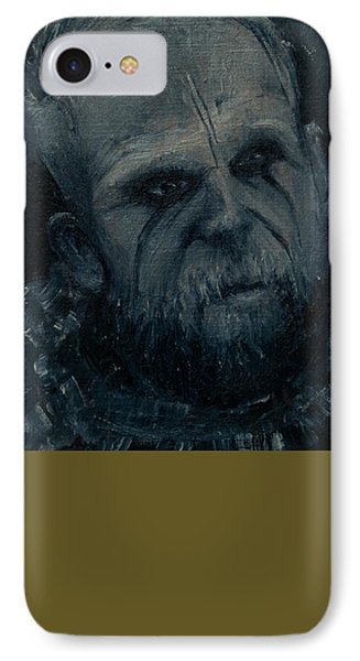 IPhone Case featuring the painting Floki by Lynn Hughes