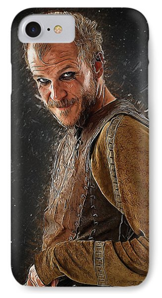 Floki IPhone Case by Semih Yurdabak