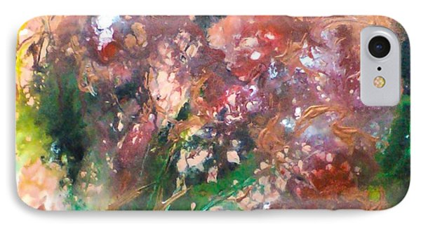 Floral Abstract Phone Case by Jan Wendt