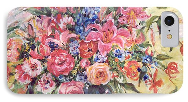 Floral Arrangement No. 2 IPhone Case by Alexandra Maria Ethlyn Cheshire