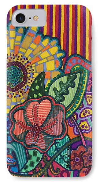 Floral Awakening IPhone Case by Molly Williams