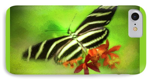 Floral Butterfly IPhone Case by Marvin Spates