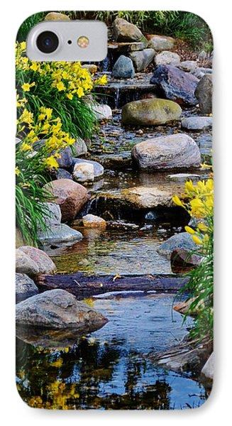 Floral Creek IPhone Case