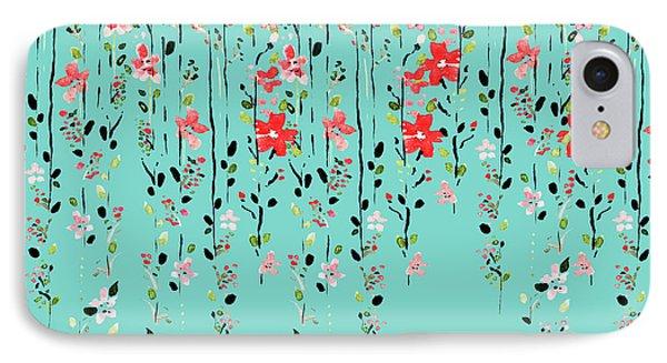 Floral Dilemma IPhone Case by Uma Gokhale