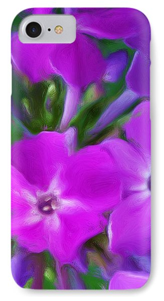 Floral Expression 2 021911 Phone Case by David Lane