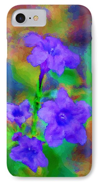 Floral Expression Phone Case by David Lane