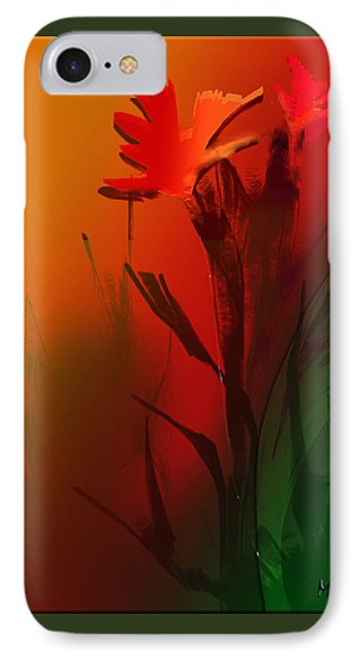 Floral Fantasy IPhone Case by Asok Mukhopadhyay